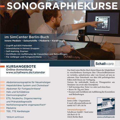 Sonography courses
